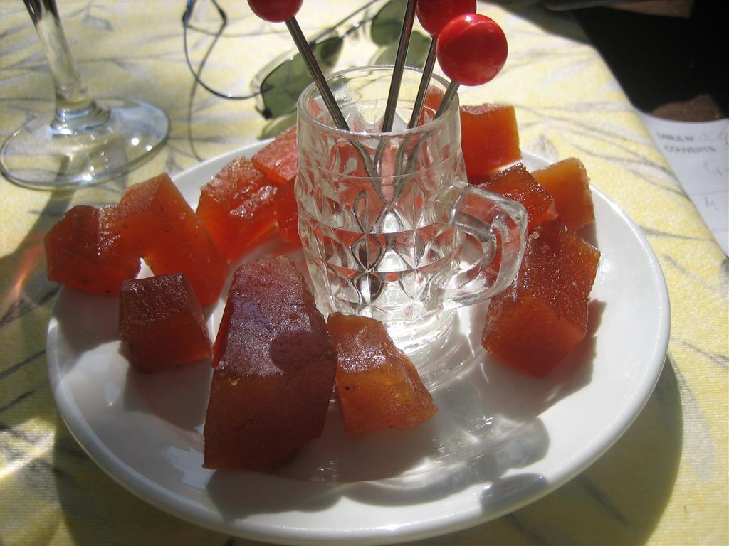 Heerlijk gesuikerd fruit