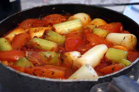 prei tomatensaus