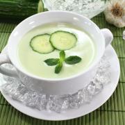 romige-komkommersoep